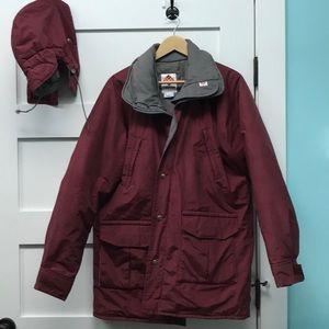 Columbia long ski jacket